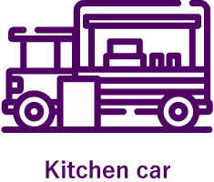 Kitchen car
